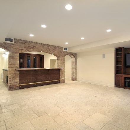 Remodeling or finishing your basement is a cost effective way to expand your living space.